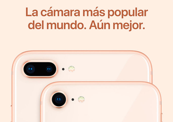 Apple cámaras iPhone 8 Plus