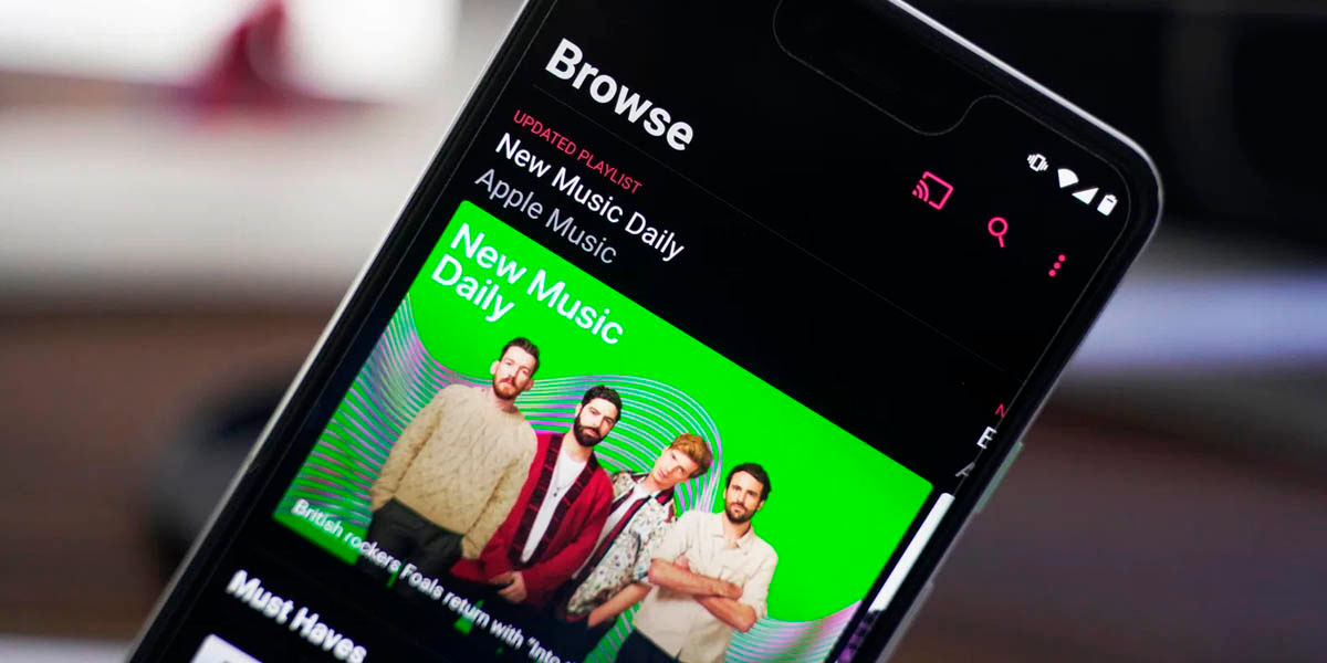 apple music android sonido sin pérdida