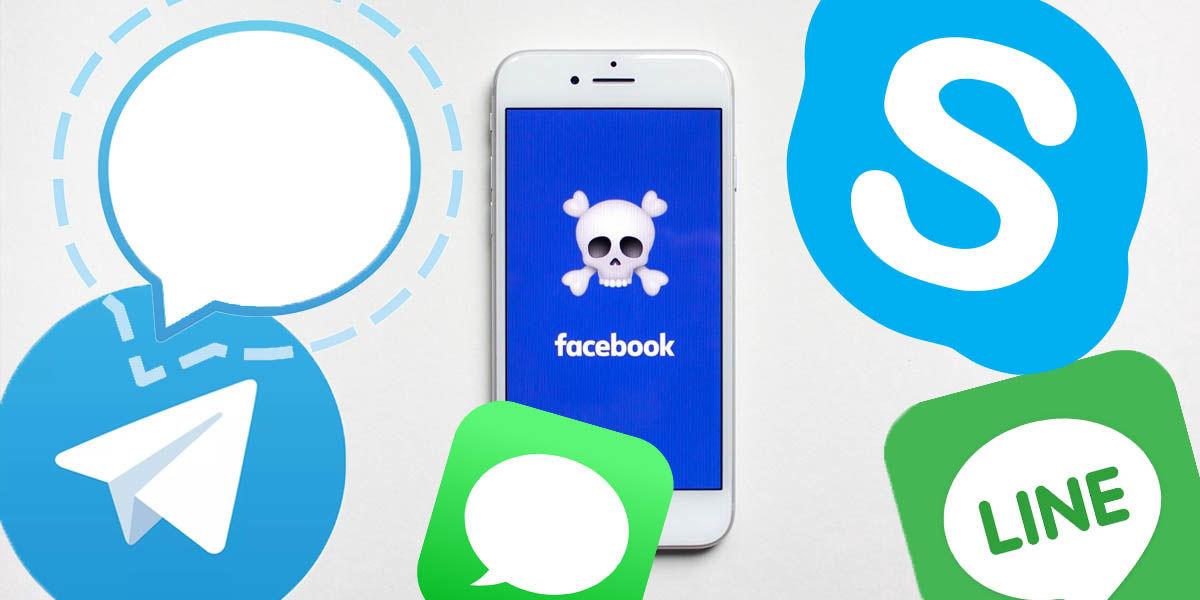 apps mensajería no facebook