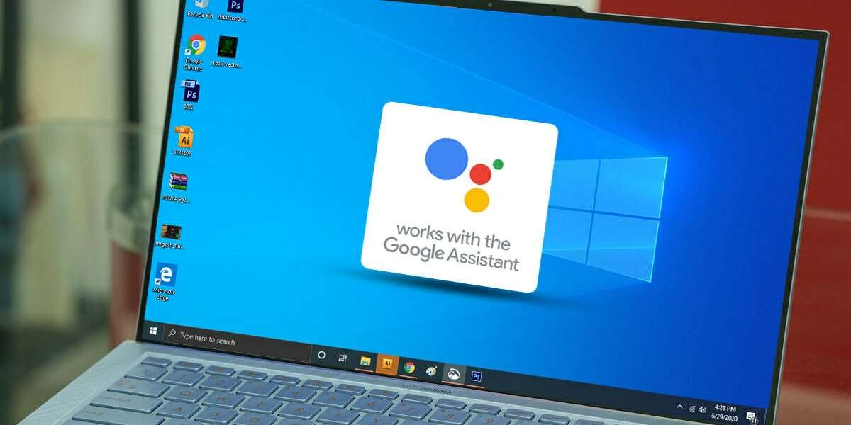 asistente de google en windows 10