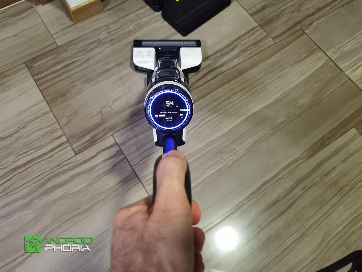 aspiradora Tineco Floor One S3 funcionamiento