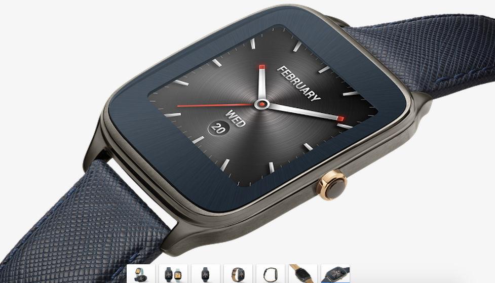 asus zenwatch 2 en google store