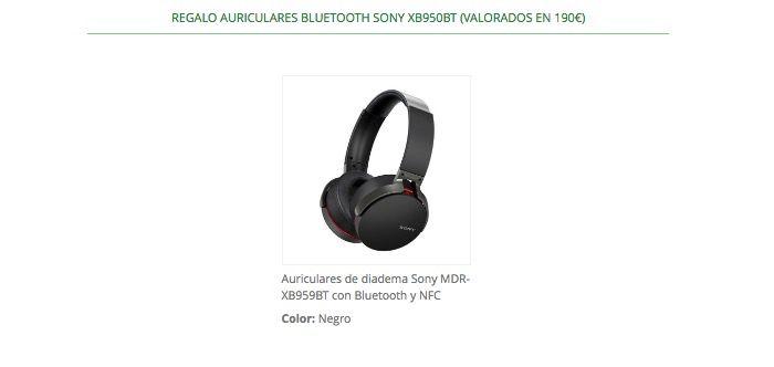 auriculares bluetooth Sony MDR-XB950