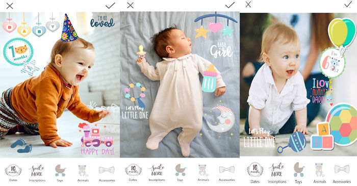 baby foto editor