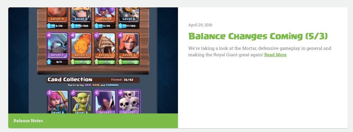 balance mayo clash royale