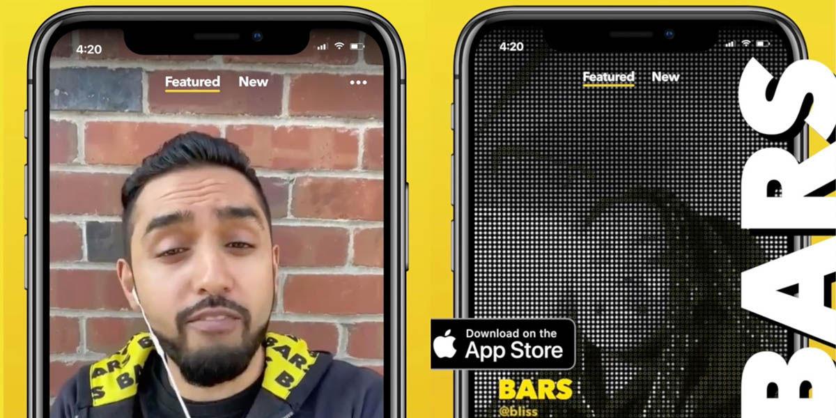 bars aplicación facebook para rapear