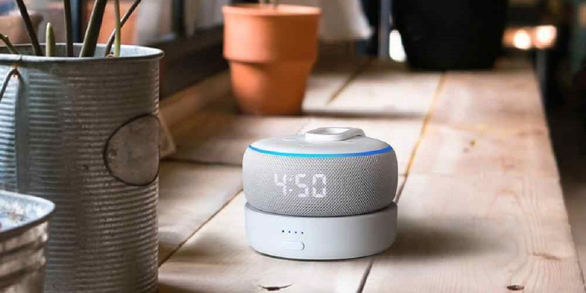 Base carga para Amazon Echo Dot