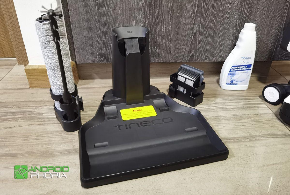 base de carga de la Tineco Floor One S3