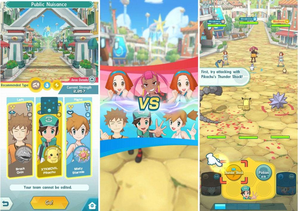 batallas pokemon masters