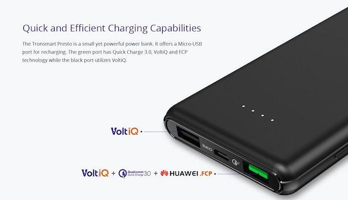 bateria externa tronsmart barata