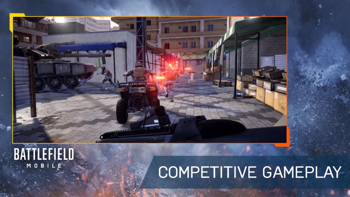 Battlefield Mobile vehículos