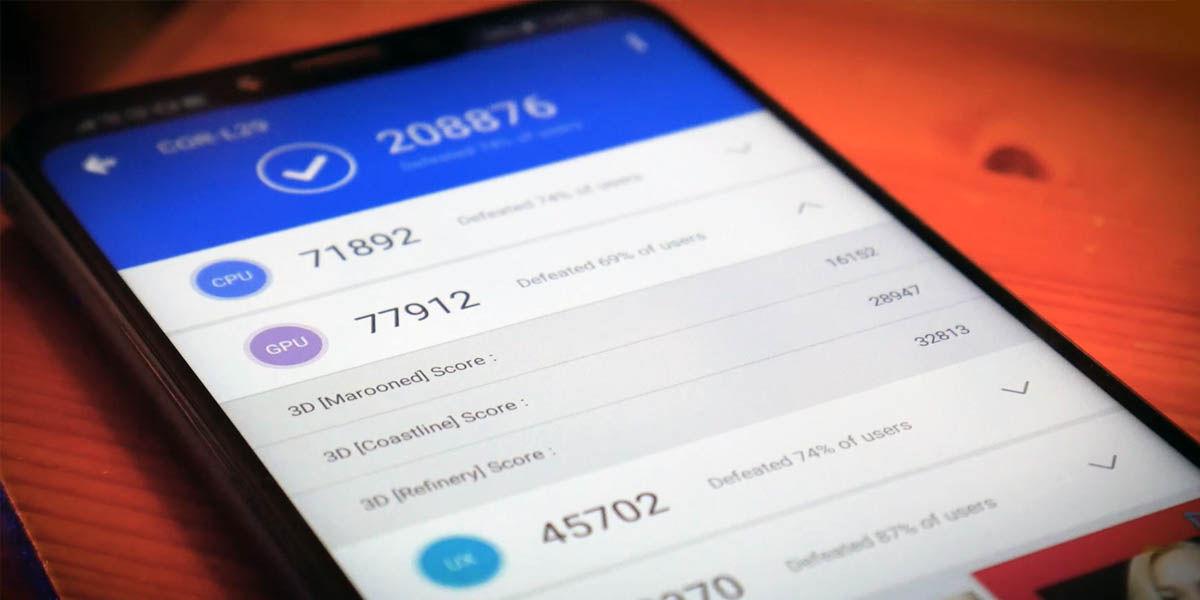 benchmark móviles
