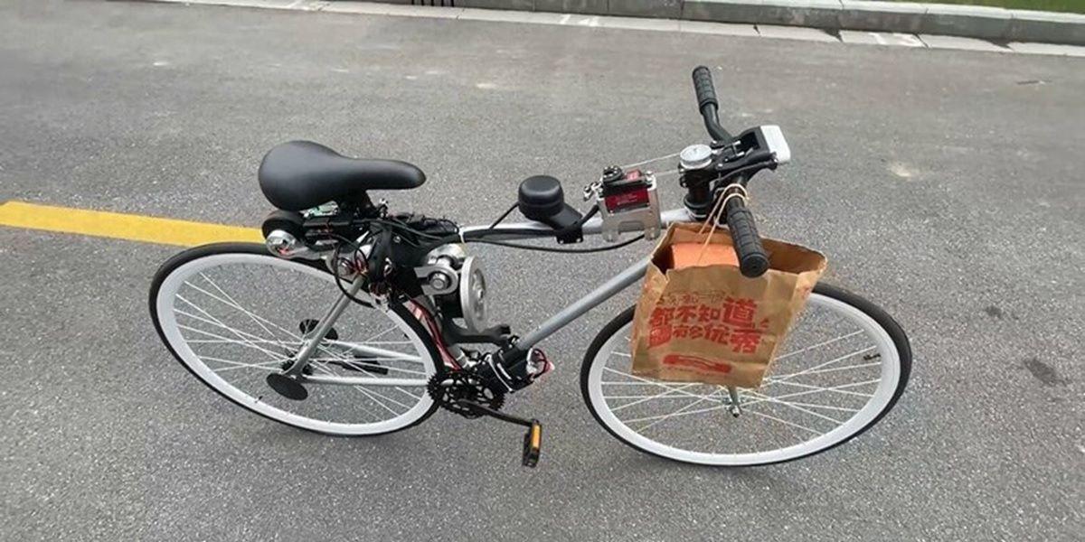 bici autonoma de huawei