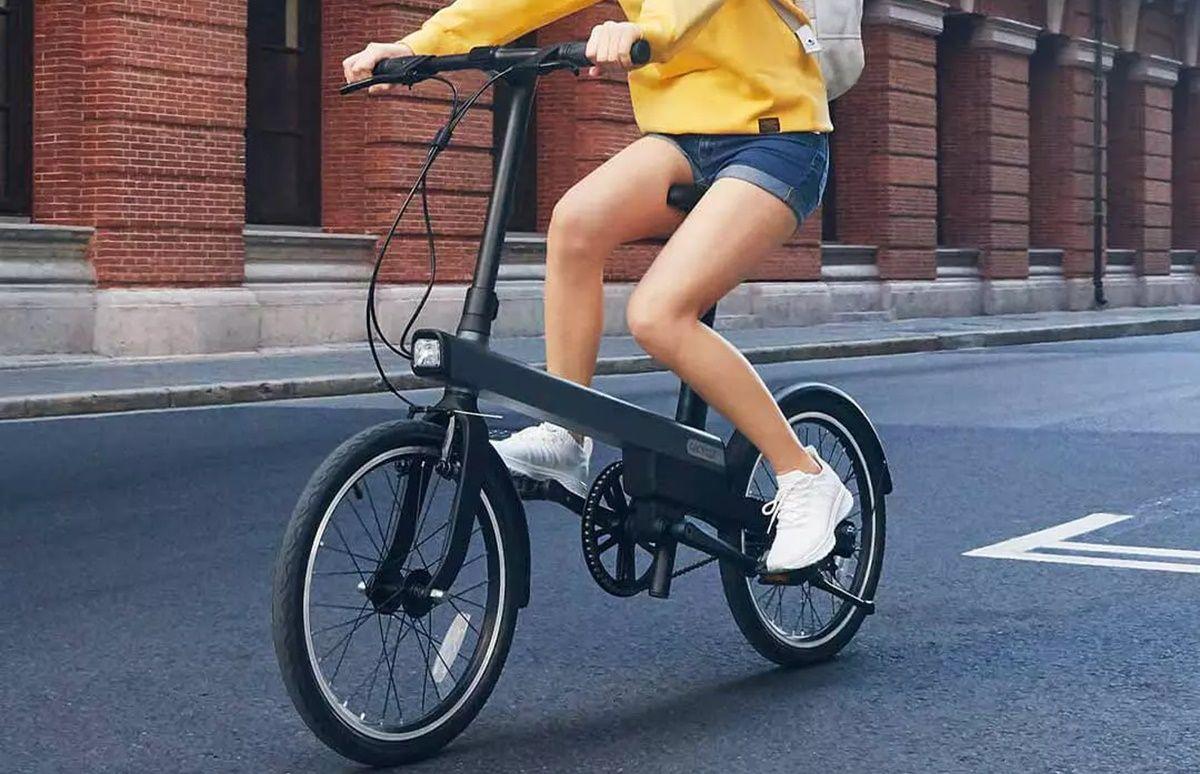 bici electrica xiaomi con 40 km autonomia