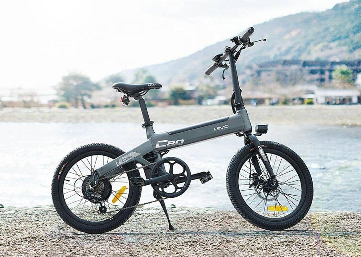 bicicleta electrica himo c20 comprar