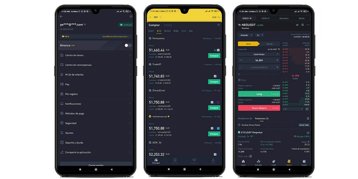 binance mejor aplicación comprar bitcoin y criptomonedas android e ios