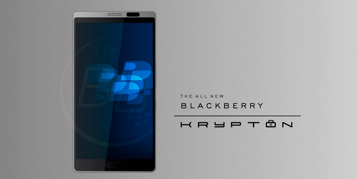 BlackBerry Krypton render
