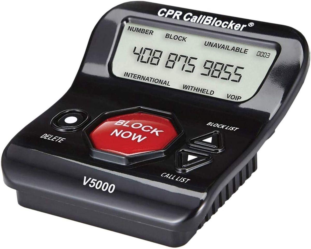 bloqueador de llamadas cpr 500
