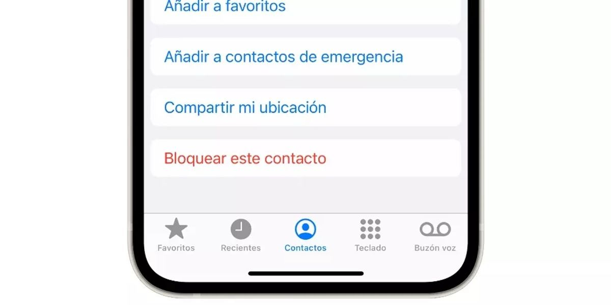 bloquear contactos facetime ios iphone