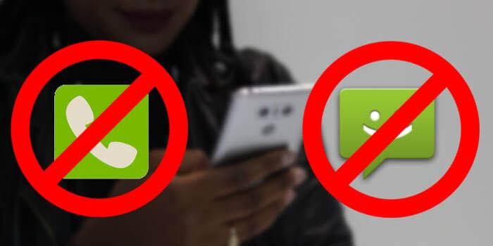 bloquear llamadas y sms en android nougat