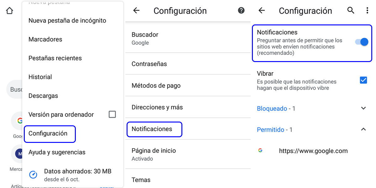bloquear-notificacion-en-google-chrome