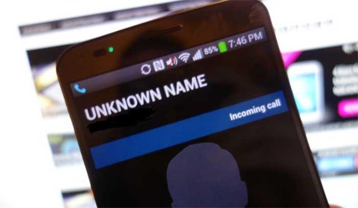 bloquear numero de celular en LG