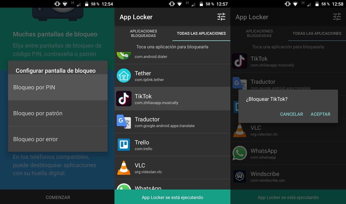 bloquear tiktok con una app de terceros