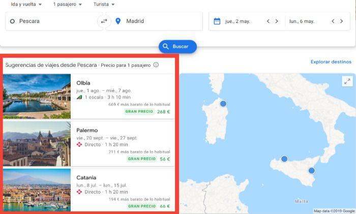 boletos barato en google vuelos