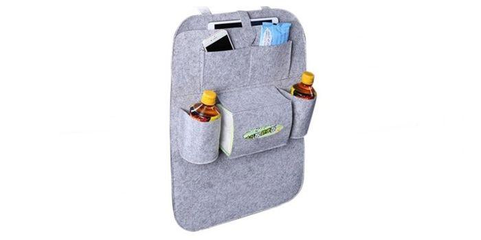 bolsa multifuncional para asientos coche