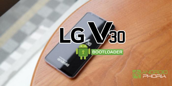 bootloader lg v30 desbloquear