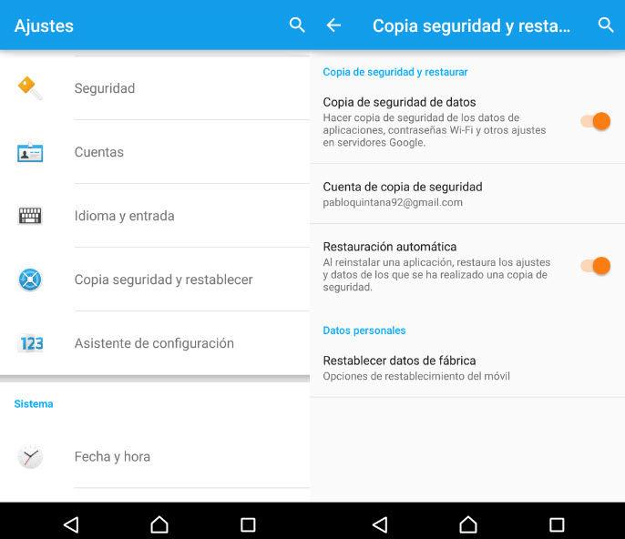 borrar datos usuario android1