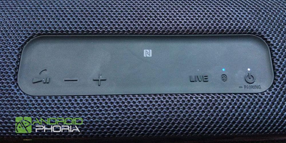 botones altavoz sony xb41