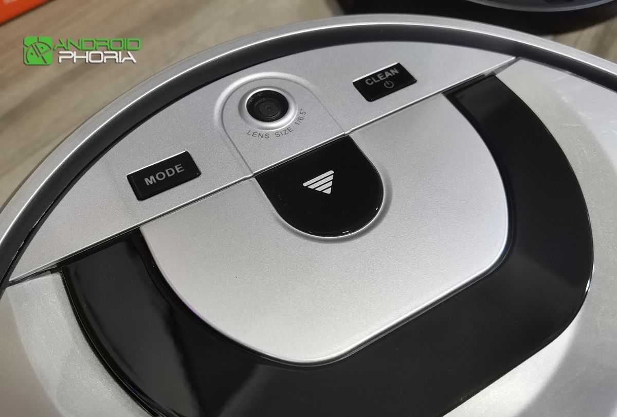 botones del iLife shinebot W455