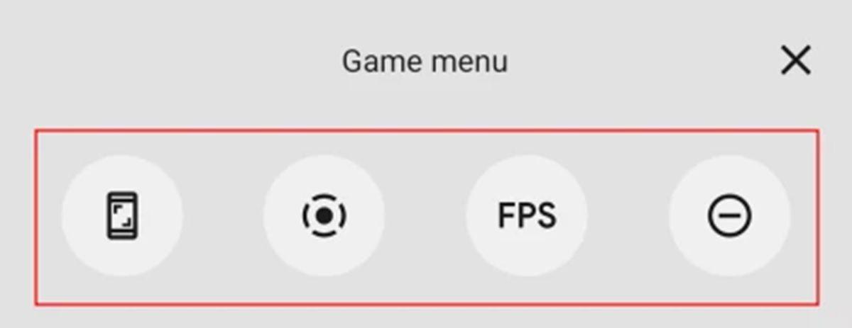 botones flotantes modo gaming