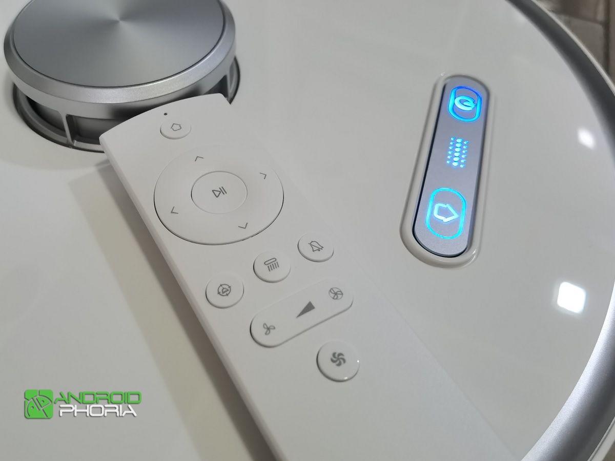 botones y mando del ultenic t10