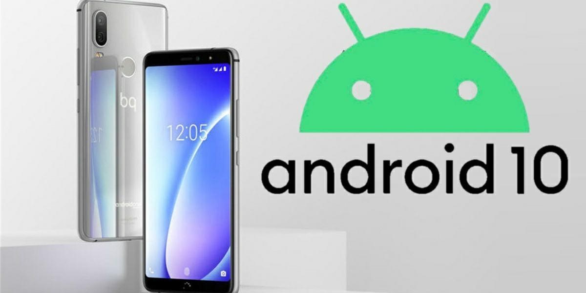 bq aquaris x2 actualizaran a android 10 beta abierta