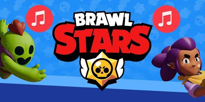 brawl stars escuchar música