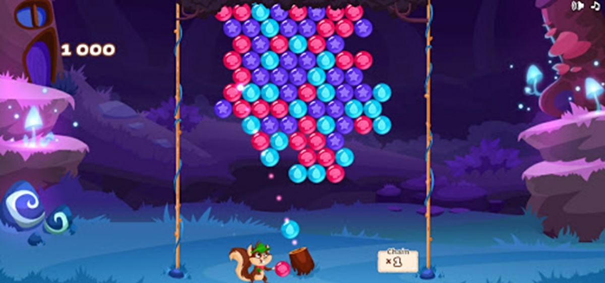 bubble woods juego