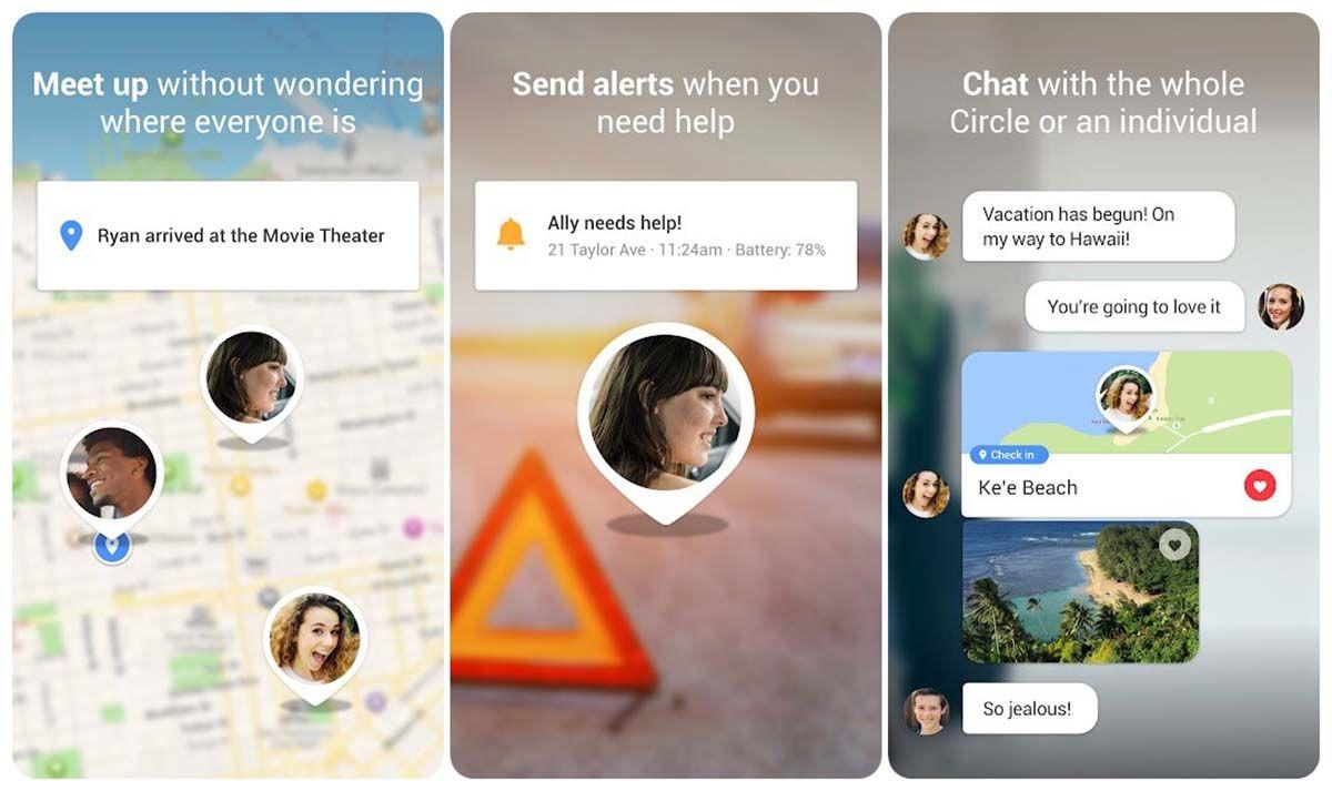 buscar amigos aplicacion para compartir direccion gps gratis