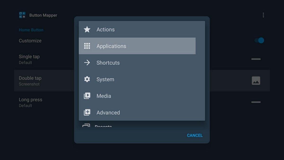 buton mapper interfaz