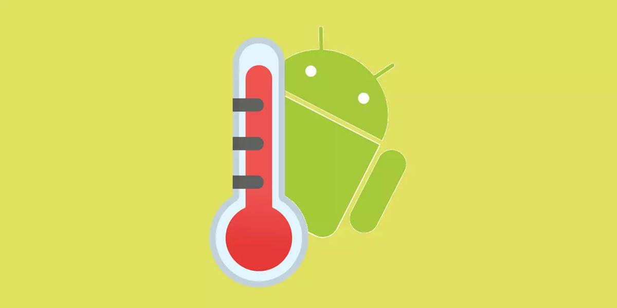 calcular temperatura casa con android