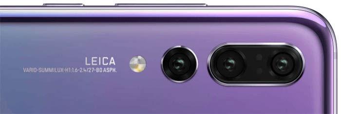 camara del Huawei P20 Pro