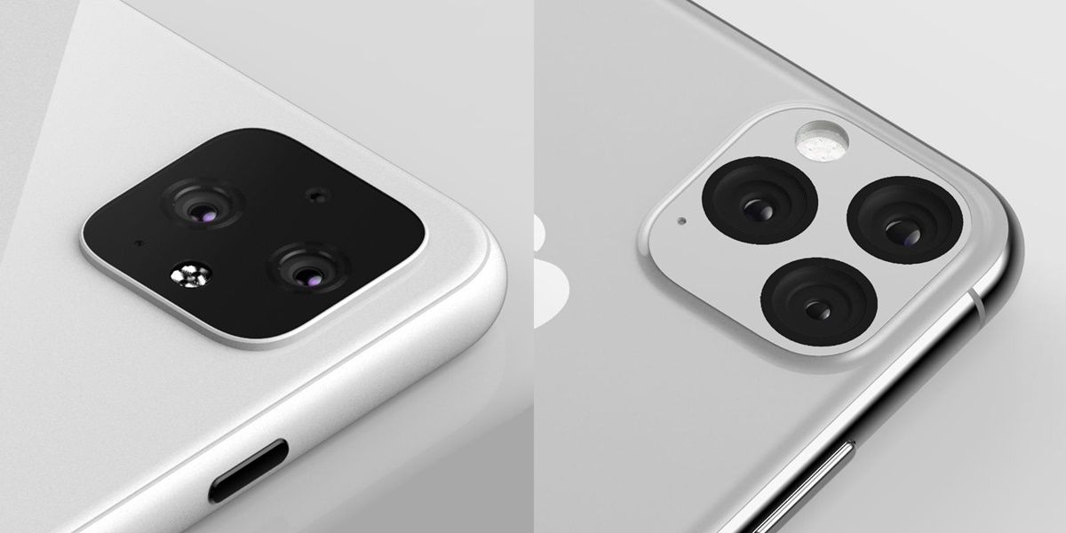 camara google pixel 4 vs iphone 11 pro