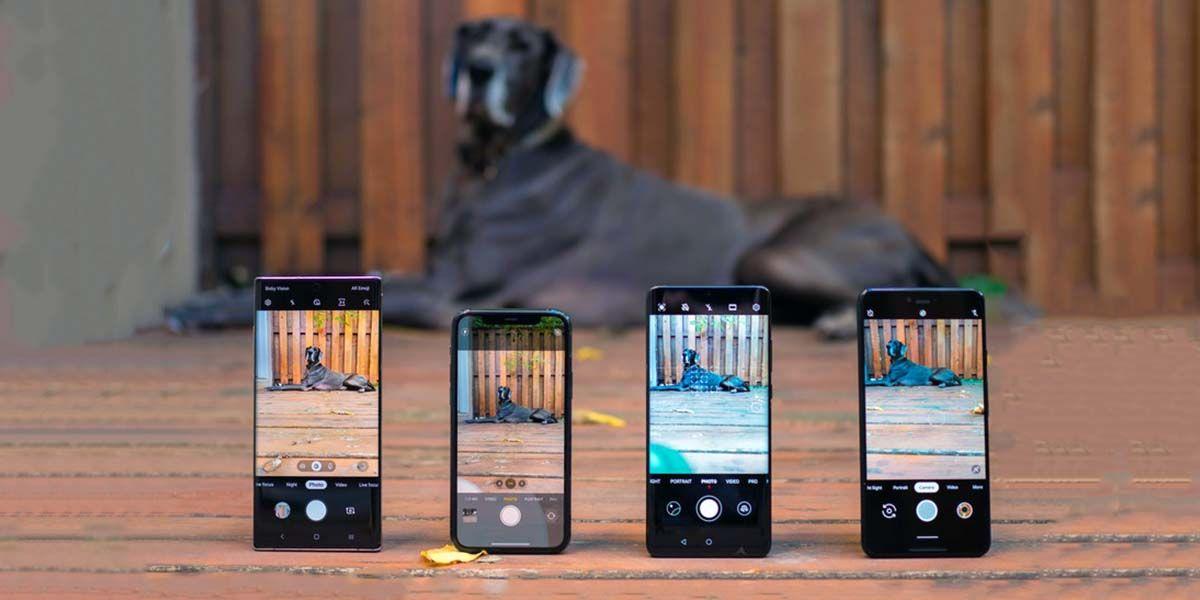 camara iphone 11 pro galaxy note 10 huwei p30 pro google pixel 3 comparativa
