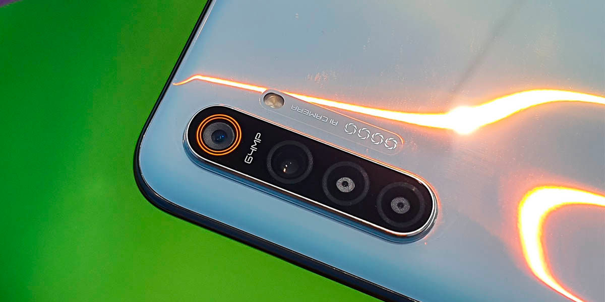 cámara realme 6 gama media asequible android