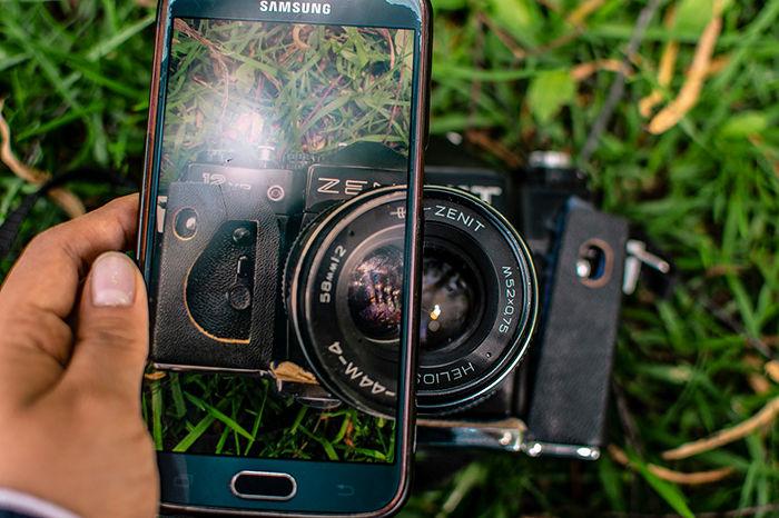 camara smartphone