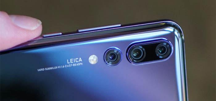 camara trasera del Huawei P20 pro