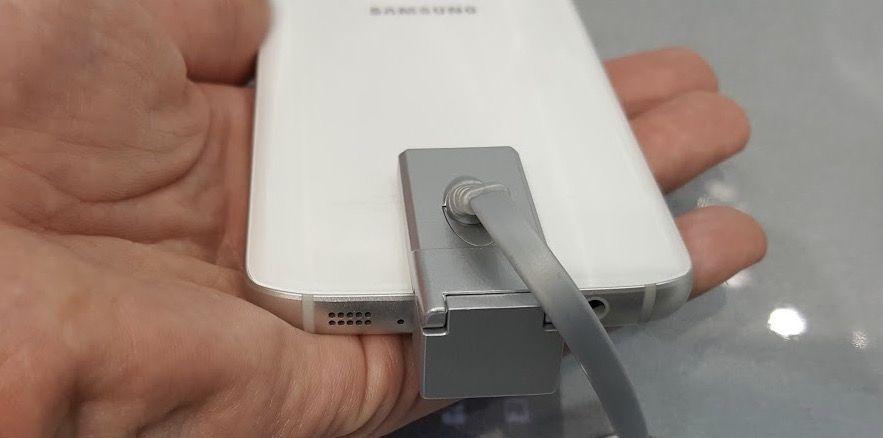 cambiar bateria galaxy s7