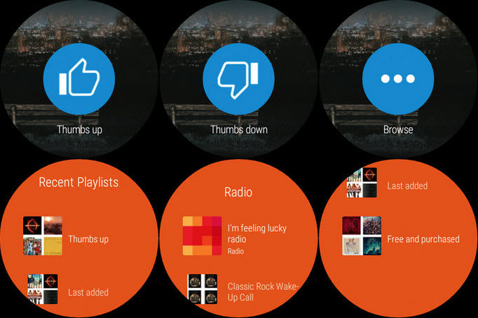 cambiar de cancion en Android Wear1