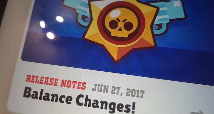 cambios balance brawl stars 27 junio